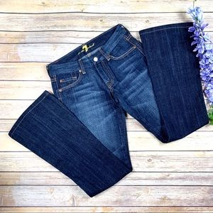 "Seven 7 For All Mankind ""A"" Pocket Flare Jeans 25"